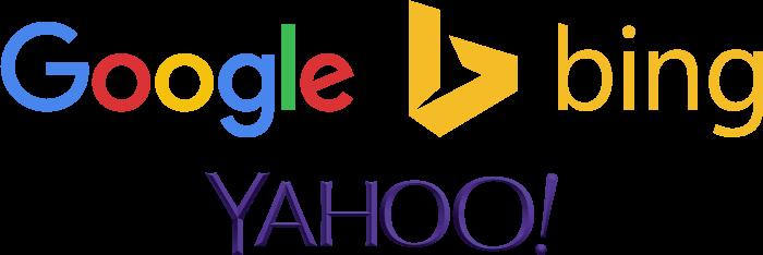 Google-Yahoo-Bing-